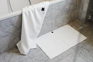 BATH MAT, BK ORIENTAL Hotel White